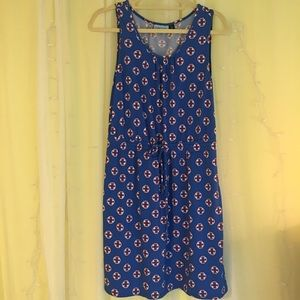 CYNTHIA ROWLEY NAUTICAL DRESS